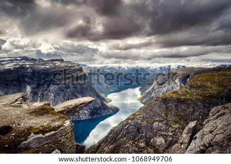 panoramic view of norway...
