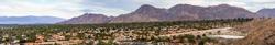 Panoramic view of Palm Desert, Coachella Valley, California