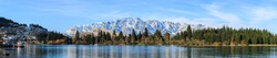 panoramic view of Queenstown, queenstown adventure capital of the world, New Zealand