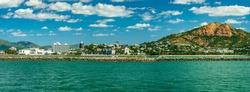 Panoramic view of Townsville coastline, Queensland, Australia