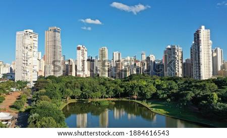 Panoramic view of Vaca Brava Park in Goiania, Goias, Brazil  Photo stock ©