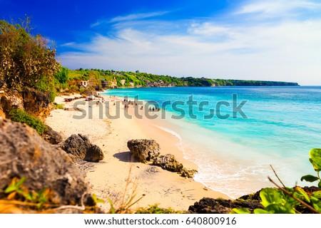 Pantai Dreamland Beach South Kuta / Tropical beach island Bali / Indonesia, Bali