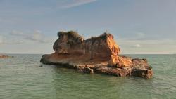 Pantai mahembang or Mahembang Beach a place worth visit located in North Sulawest Minahasa