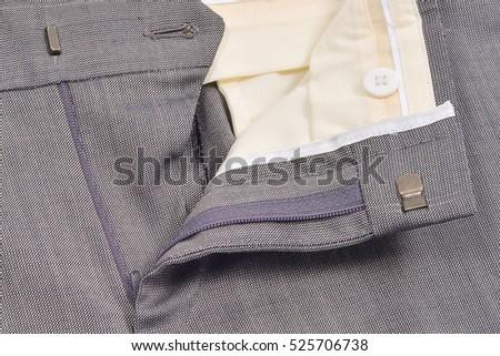 pants fly undo, horizontal format #525706738
