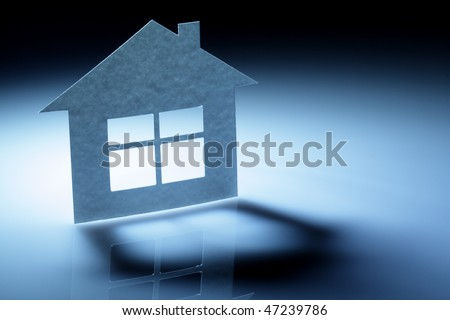 Paper abstract house