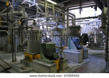 Paper and pulp mill - In this plant all the fibrous raw material is produced by two de-inking plants that recycle waste paper. 50% of all the plantÂ?s energy requirements  is produced autonomously.