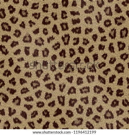 Paper animal print leopard texture #1196412199