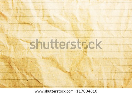 Paper Background With Line