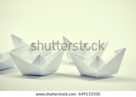paper boats #649133500