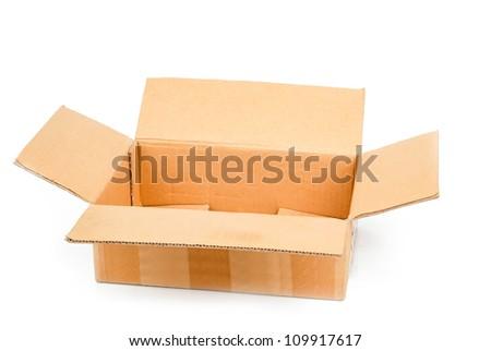 Paper box - stock photo