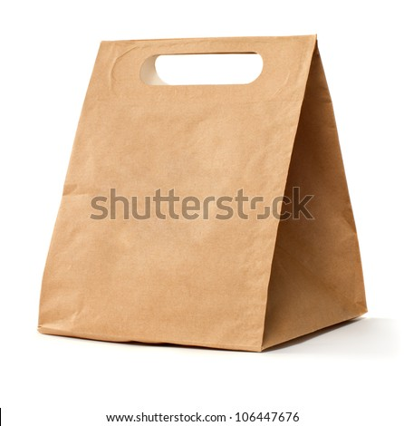Paper brown bag