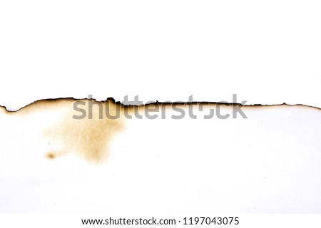 paper burned old grunge abstract background texture #1197043075