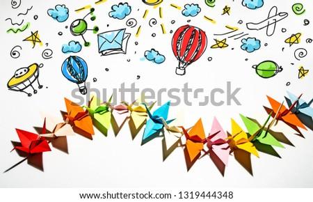 Paper Cranes Origami #1319444348