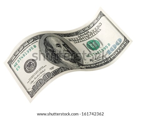 paper currency on white