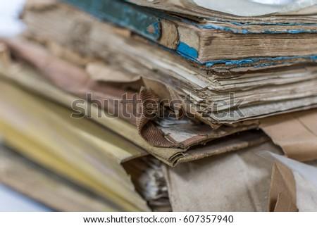 paper files in a folder is a...