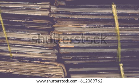 paper files in a folder is a...