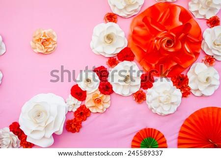 paper flower #245589337
