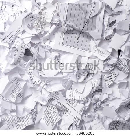 Paper garbage