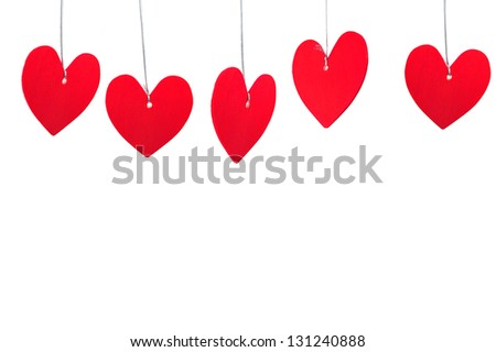 paper heart and rope