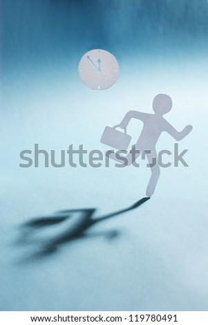 paper man running