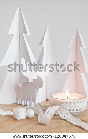 Paper moose in the paper forest