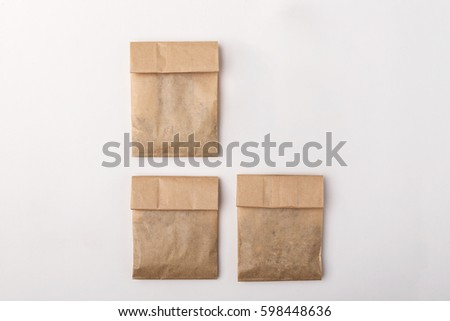 Paper package for herbs #598448636