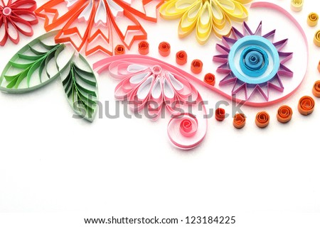 Quilling Paper Flowers Paper Quilling Colorful Paper