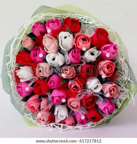paper roses #617217812