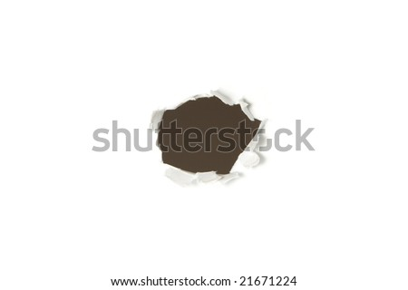 Paper\'s hole