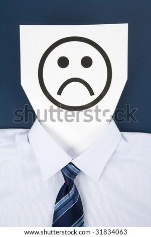 Paper Sad Face, Business Concept