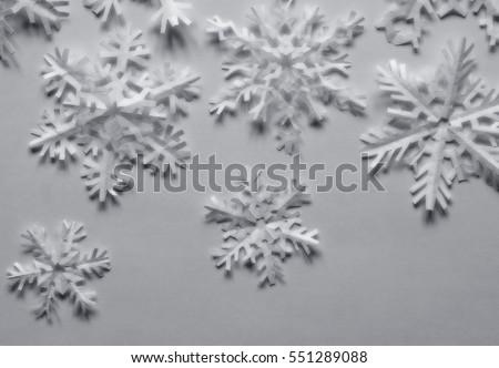 Paper Snowflakes #551289088