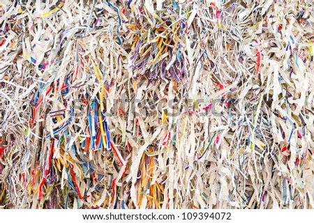 paper strips - stock photo