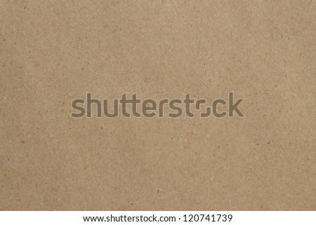 Paper texture - brown paper sheet.