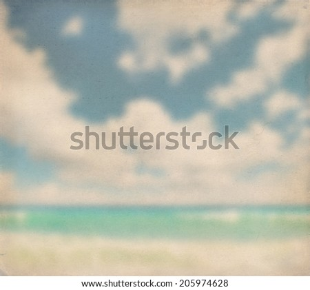paper texture. nature background. sea and sky #205974628