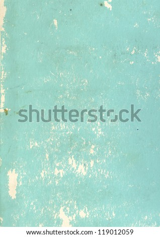 Paper Texture Of Blue Color