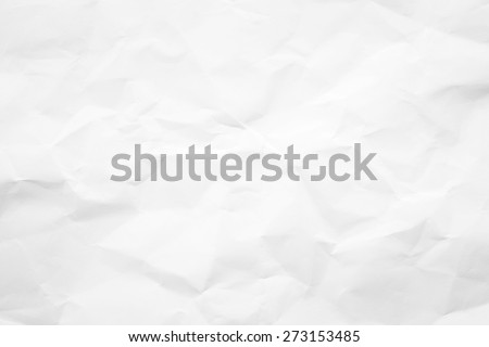 Paper texture. White crumpled paper background. #273153485