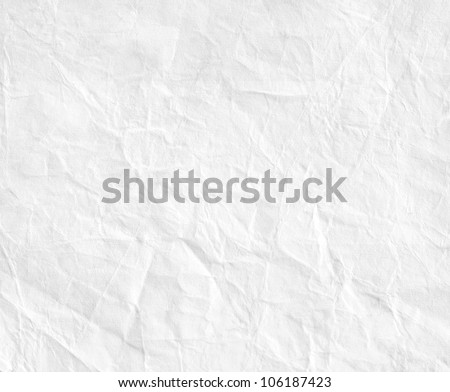 Paper texture. White paper sheet.