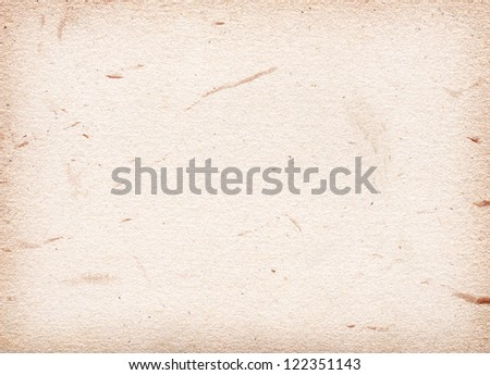 Paper texture with colored spots. Hi res - stock photo