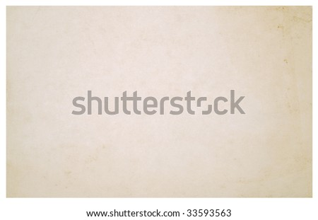 paper texture with rough edges over white