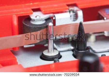paper tractor mechanism recorder macro