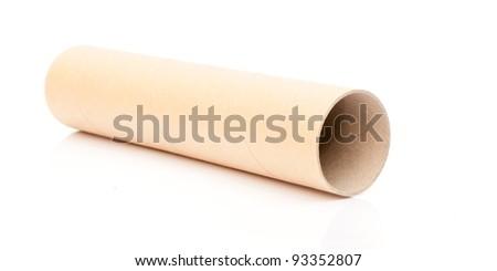Paper tube.