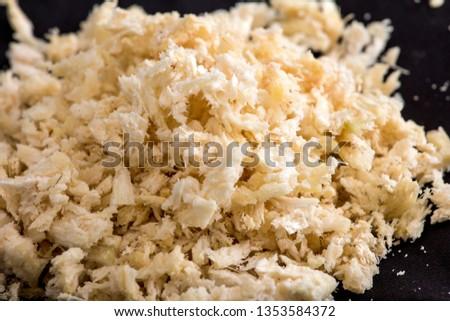 Papermaking raw material bagasse #1353584372