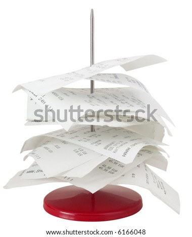Paperstick - isolated on white