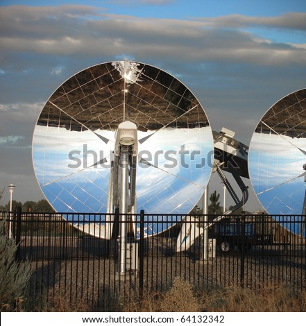 parabolic dish solar energy equipment mirror