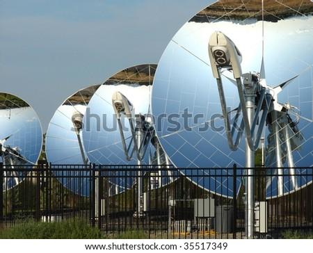 parabolic dish solar Reflector