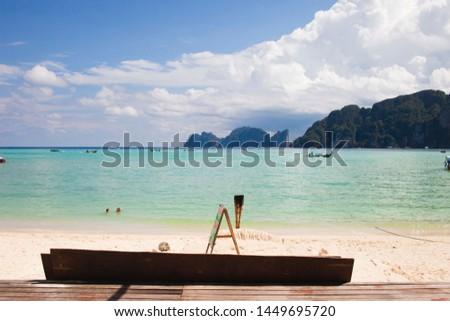 Paradise in Ko Pi Pi Island in Thailand