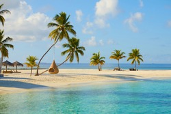 Paradise in Maldives