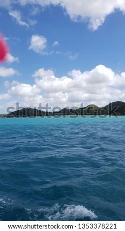 Paradise island water #1353378221