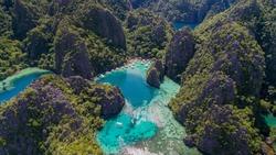 Paradise lagoons of El Nido, Philippines