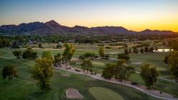 Paradise Valley Arizona United States southwestern sunset.